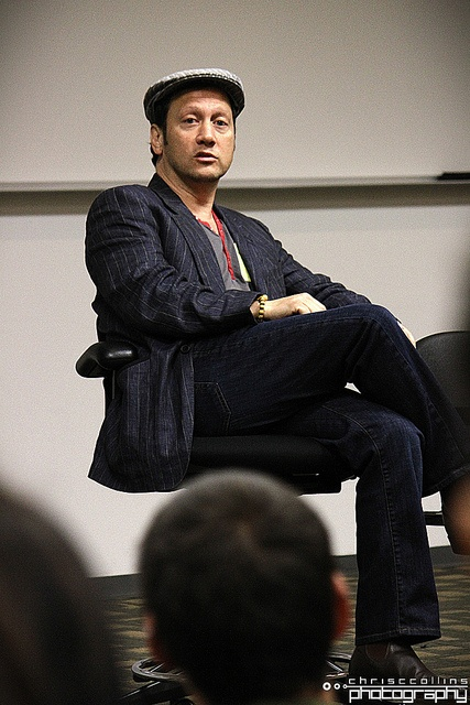 SNL cast member and actor Rob Schneider at Full Sail University.