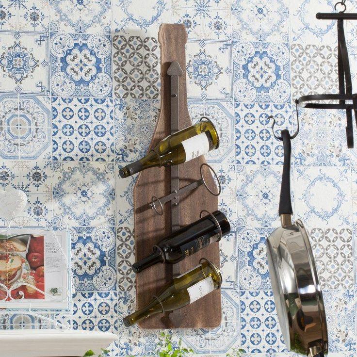 Das perfekte Geschenk für Weinliebhaber! Ein stilvolles #Regal in pfiffigem Design
