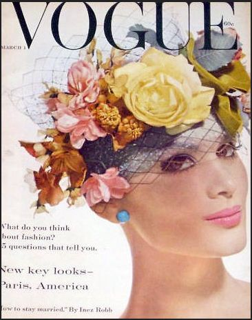 Isabella Albonico, photo by Irving Penn, Vogue March, 1959*