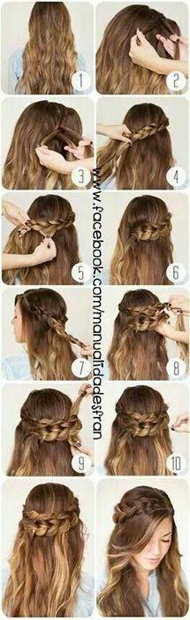 Peinados fáciles para cabello largo paso a paso