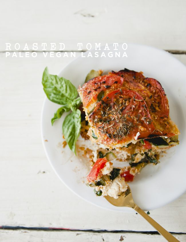 1599 best foodrecipes images on pinterest best recipes center roasted tomato paelo vegan lasagna forumfinder Gallery