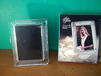 Style Brite 24 Lead Crystal Picture Frame 5x7
