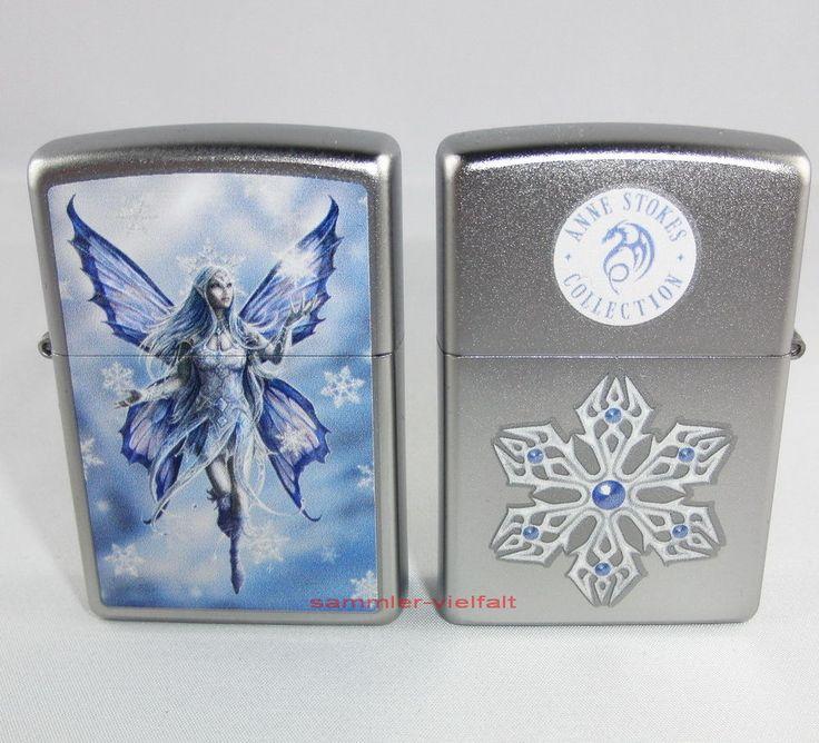 ZIPPO Feuerzeug ANNE STOKES Collection - SNOW FAIRY Elfe NEU OVP Sammlerstück!!