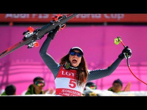 Sofia Goggia vittoria in discesa a Jeongseon