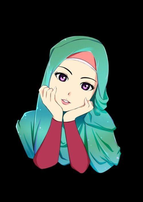 39 best hijab cartoon images on pinterest