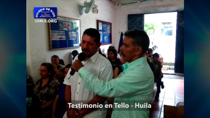 Testimonio en Tello Huila