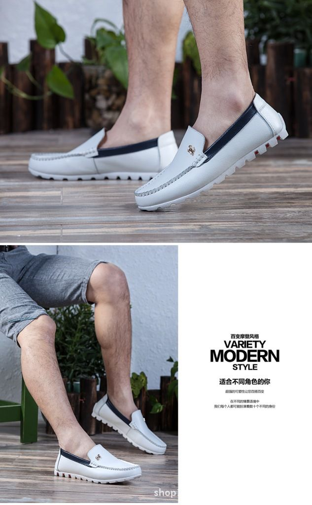 Chic Comfort Leather Casual Loafer Flat Shoes