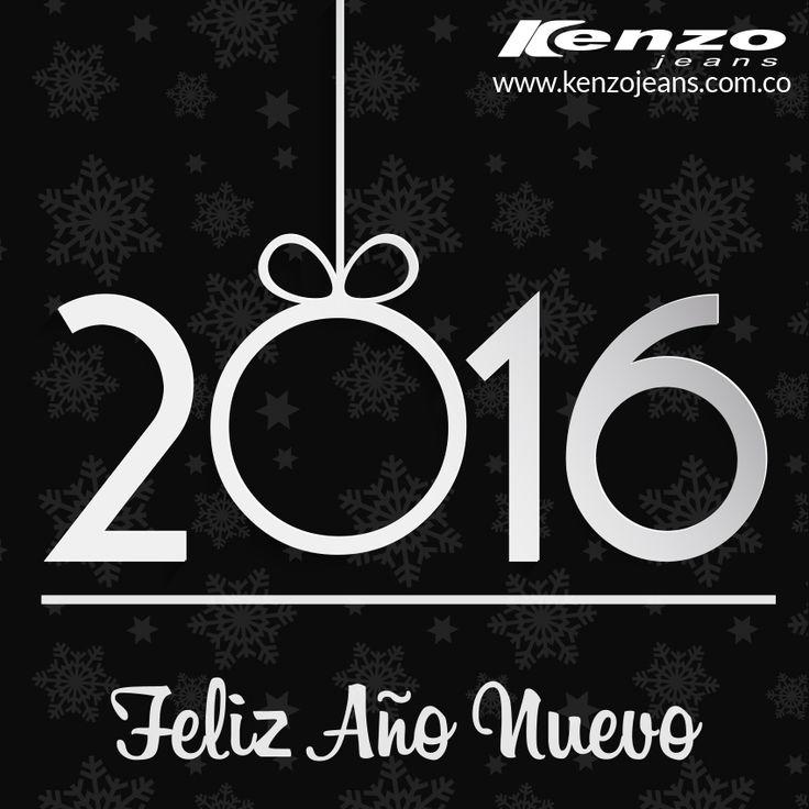 Llegó la hora de celebrar y agradecer por permitirnos conquistar tu guardarropa con los mejores estilos y tendencias y en el 2016 lo seguiremos haciendo ¡Feliz Año Nuevo! #KenzoJeans #AñoNuevo