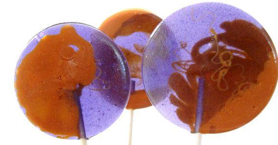 Peanut Butter & Jelly Gourmet Lollipops !  YUMMY!!