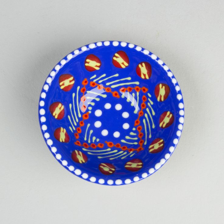 Ceramic bowl pottery South Africa painted patterns