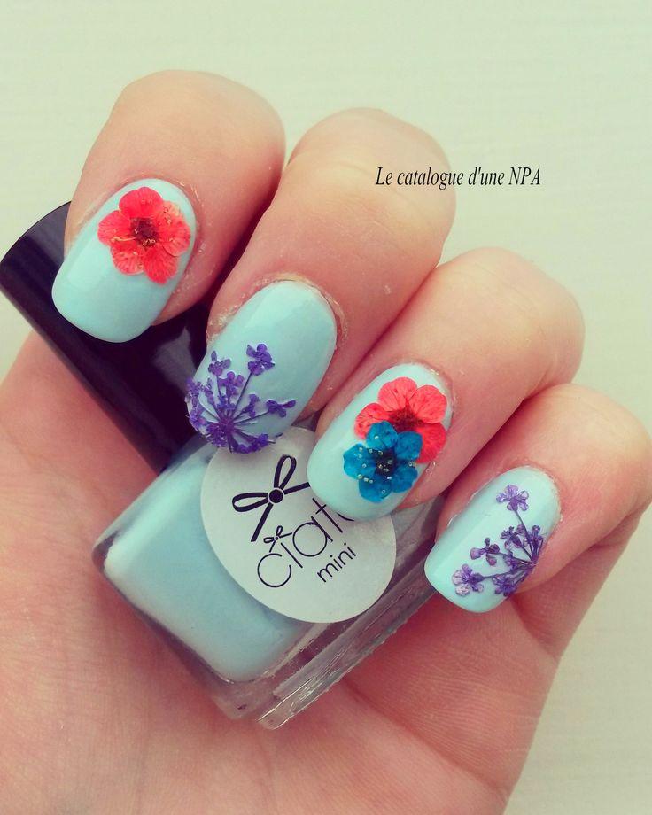 #npa #nailart #nailartist #ciaté #flower #manicure