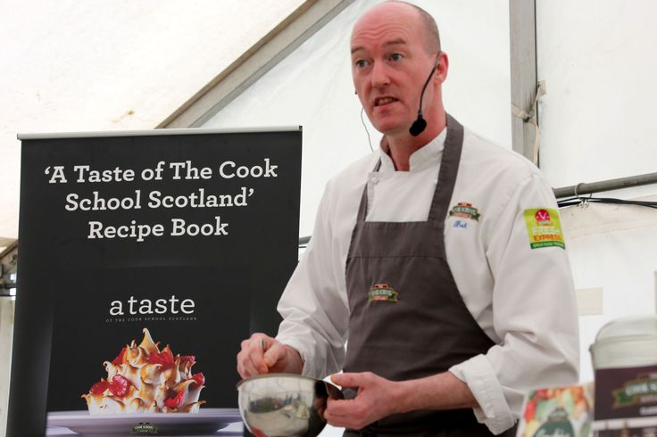 Cookery demos with Cook School Scotland