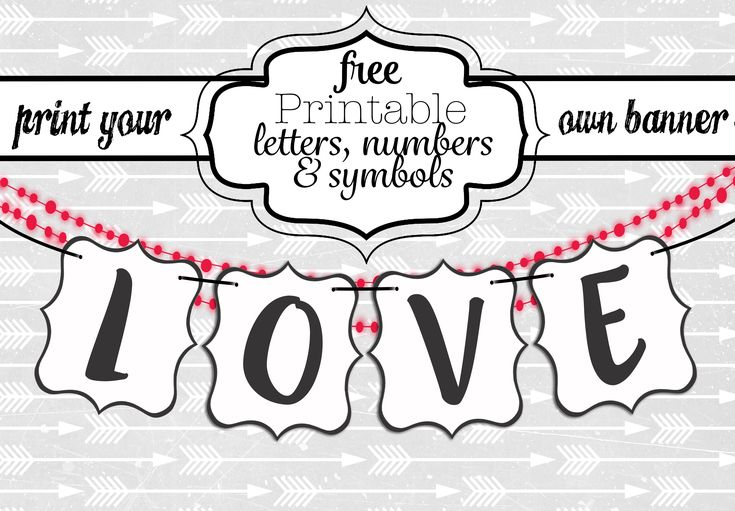 Free Printable Letters For Banners Entire Alphabet