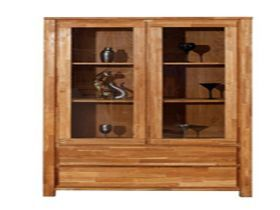 http://www.vandyks.co.nz/afawcs0159323/CATID=1193/ID=85343/SID=201473540/COPENHAGEN-DISPLAY-CABINET-2DOOR.html  The Copenhagen is a functional design for a modern and urban look  Features:  Finger joined solid oak 38mm tops  Fully assembled 2 Door Cabinet Dimensions: 1900 x 1050 x 425  2 Year Warranty