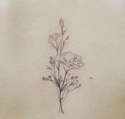 Tags mais populares para esta imagem incluem: tattoo, delicate tattoo e flower tattoo
