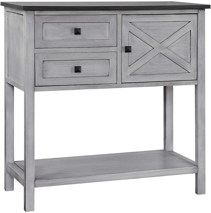 Gallerie Decor Framingham Farmhouse Console Table Console Table
