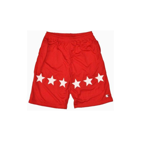 Champion Men Shorts In Red ($40) ❤ liked on Polyvore featuring men's fashion, men's clothing, men's shorts, shorts, mens shorts, champion mens shorts, mens clothing, men's apparel and mens red shorts