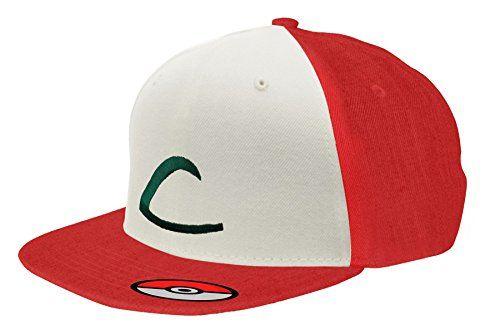 Gorra de béisbol Snapback Pokemon GO Ash Ketchum #regalo #arte #geek #camiseta