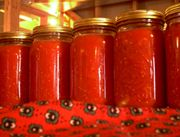 Crushed Tomatoes: Canning Recipes, Canning Ideas, Gardens Tomatoes, Canning Tomatoes Recipes, Extra Gardens, Neat Ideas, Canning Okra And Tomatoes, Food Preserves, Canning Freeze