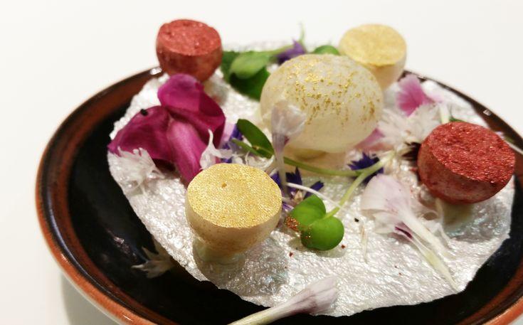 Stunning dessert from three-Michelin starred chef Quique Dacosta