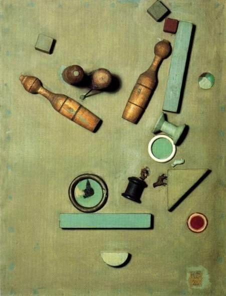 """Курт Швиттерс был одним из первых художников который сделал мусор - предметом искусства. """"То что разбито, как Шалтай-Болтай уже не подлежит ремонту"""". Использование мусора по Швитерсу соединяет изящное искусство с реальным миром. Что угодно может стать искусством."""