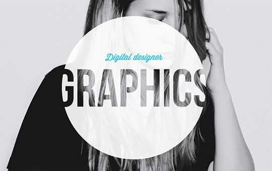 Single Page Website Design: Gra-phics