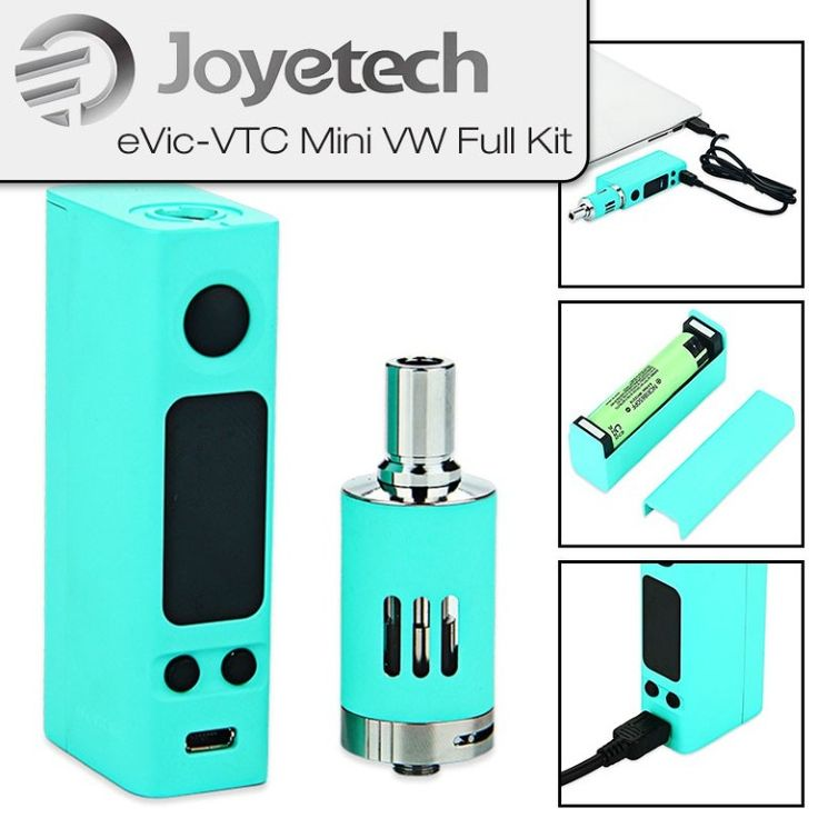 Joyetech – EVic-VTC Mini VW – Full Set Mit EGo Mega Verdampfer | My-eLiquid E-Zigaretten Shop | München Sendling