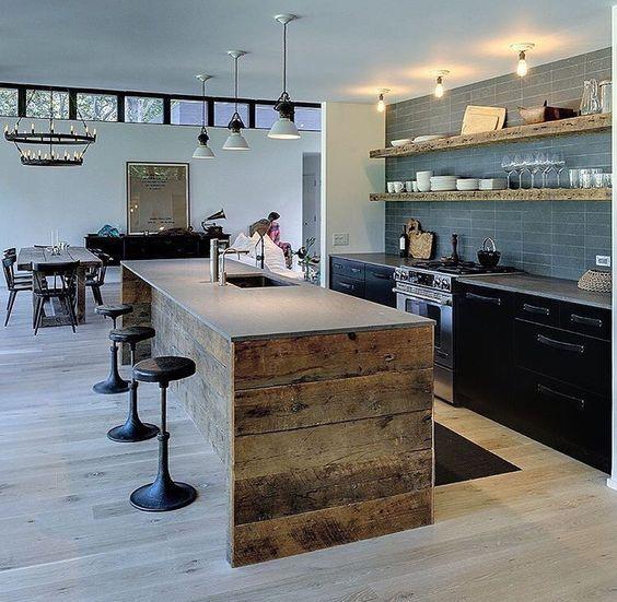 Mejores 35 imágenes de Ideas | Kitchen Island en Pinterest | Islas ...