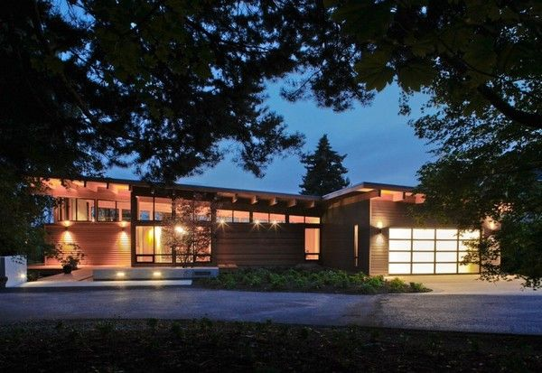 Hotchkiss Residence Simple Contemporary House Designed by Portland Based Studio Scott Edwards Architecture