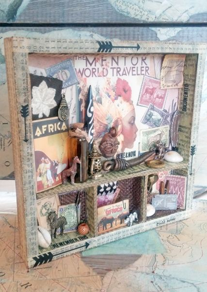 starrgazer creates: World Traveler Shadowbox