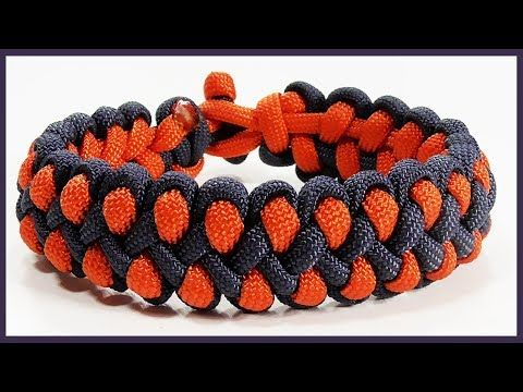 "Paracord Bracelet: ""Overboard"" Bracelet Design Without Buckle - YouTube"