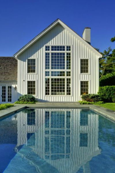 Contemporary barn home and post and beam on pinterest for Contemporary post and beam house plans