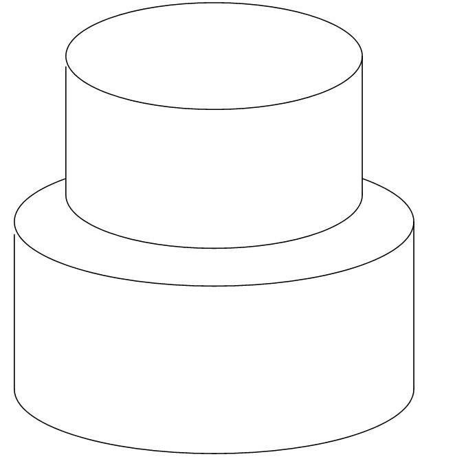 10 best cake template images on pinterest | cake templates, cake ... - Blank Birthday Cake Coloring Page
