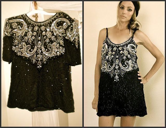 Trash to Couture--links to an awesome blog where fashion designer redesigns thrift store finds, etc. Awesome!