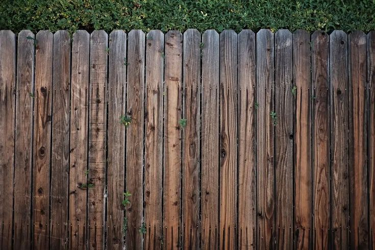 how to bleach wood fence