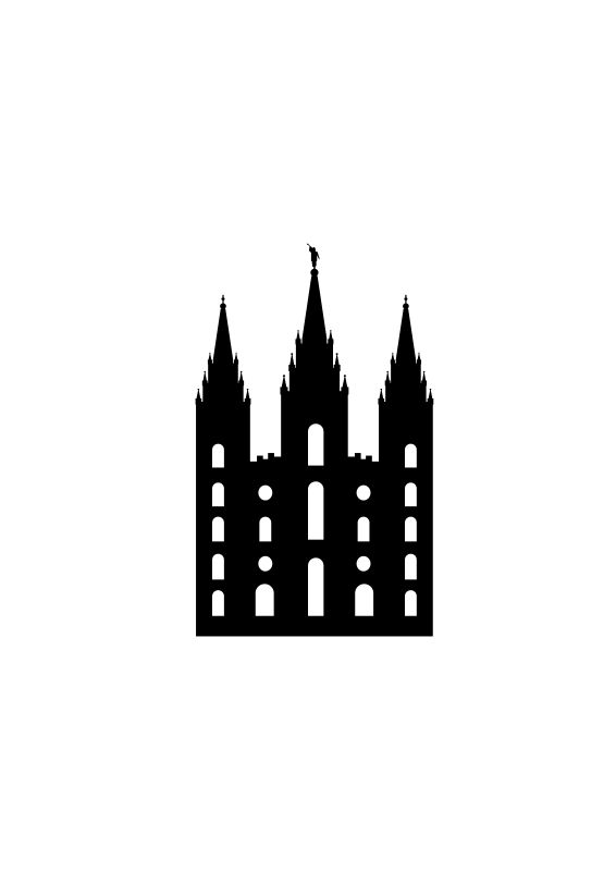 SLC Temple Vector