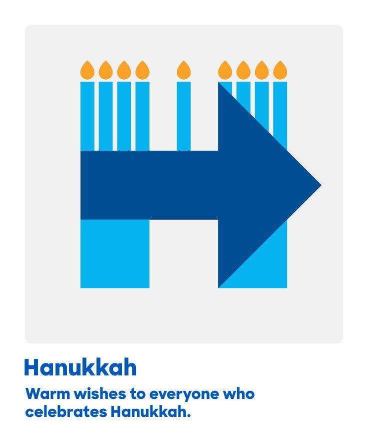 Warm wishes to everyone who celebrates Hanukkah.