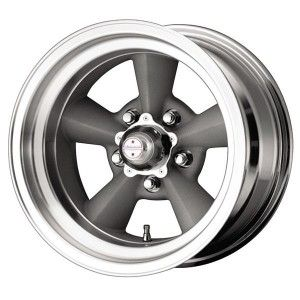 VN309 TORQ THRUST ORIGINAL GREY RIM with MACHINED LIP by AMERICAN RACING WHEELS - Performance Plus Tire