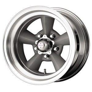VN309 TORQ THRUST ORIGINAL GREY RIM with MACHINED LIP by AMERICAN RACING WHEELS - Performance Plus Tire