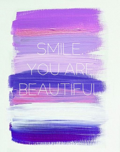 Inspiration for the Soul 5.22.12-Smile, You Are Beautiful!