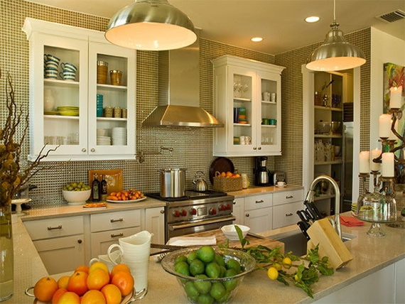 lighting in kitchen ideas. notice the faucet above stove kitchen lighting design tips rooms hgtv in ideas