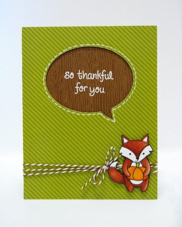 Lawn Fawn -  Party Animal, So Thankful, Large Stitched Journaling Card, Hot Cocoa Lawn Trimmings _ Card by Mendi Y. via Flickr