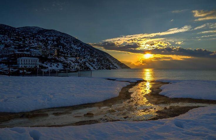 Αιδηψός Ηλιοβασίλεμα - Edipsos sunset