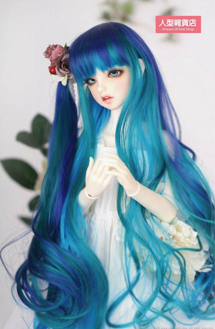 Amazon Com Bjd Doll Hair Wig 7 8 Quot 1 4 Sd Dz Dod Luts Mix