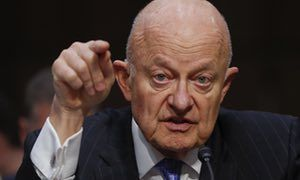 James Clapper: democratic institutions are 'under assault' by Trump Former national intelligence director hammers the president's actions, calling James Comey's firing 'another victory for Russia'