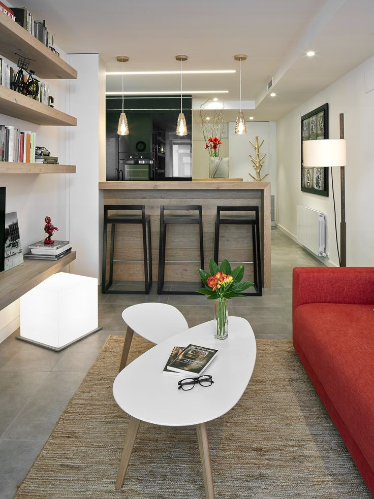 91 best salones images on pinterest interiors lounges for Interiorismo salones