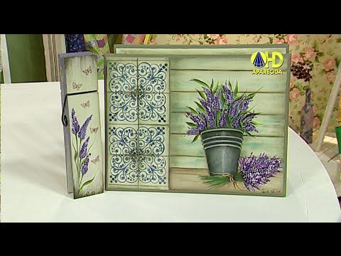 12/08/2014 - Quadro Decorativo (Diná Rocha) - YouTube