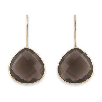 Buy Gold Smokey Quartz Tear Drop Earrings at competitive prices from Fishers on Cameron