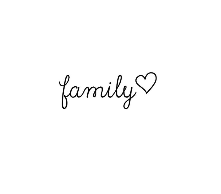 4 Small Family and Heart Temporary Tattoo, various sizes available by TabooTattoo on Etsy https://www.etsy.com/listing/240781485/4-small-family-and-heart-temporary