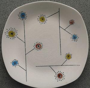 Midwinter FLOWERMIST Tea Plate - JESSIE TAIT 1956
